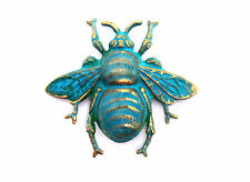 Large Verdigris Patina Bee Stamping (1) - Vpffa8986 Jewelry Finding