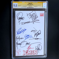 X-MEN #1 CGC SS 9.8 💥12X SIGNED💥 STERANKO + O'NEIL + BELLMAN + ZECK + PORTACIO