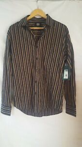 """Mens """" (Ed Harry) new with tags long sleeve stripe Shirt - Size s was $49.95 ..."""