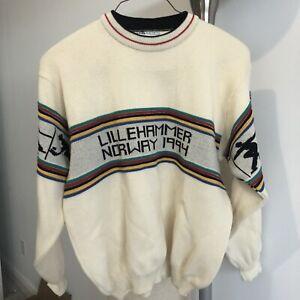 Rare Vintage Lillehammer 1994 Olympics Sweatshirt