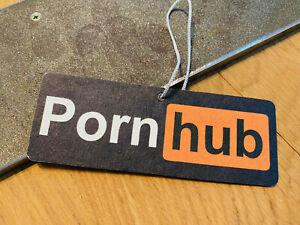 Pornhub LUFTERFRISCHER Duftbaum Air Freshener Duft Vanille Auto Tuning Porno OEM