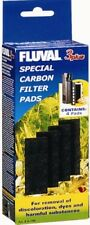 Fluval 3+ Plus Carbon Filter Pads Pack of 4 Geniune Product