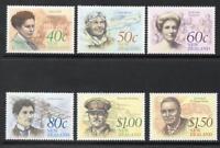 1990 New Zealand~Famous Newzelanders~Unmounted Mint ~Stamp Set~ UK Seller