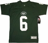Boys NFL New York Jets Mark Sanchez Youth Performance Jersey T-Shirt Size Large