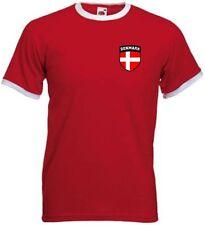 Camiseta de fútbol de selecciones nacionales rojo talla L