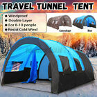 10 Person Large Family Tent Portable Traveling Camping Hiking Waterproof Outdoor