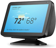 Echo Show 8 - HD smart display with Alexa – stay connected with video calling -