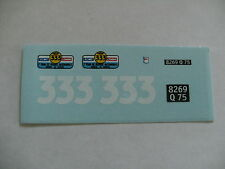 decals decalcomanie simca 8 tour de france  1/43