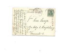 MSP No 20 ( SMS Iltis ) 26.11. (1908) 2 x K1 auf AK The Custom House Nagasaki