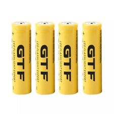 1x GTF 3.7V 18650 9800mAh Li-ion Rechargeable Battery For LED Torch Or Vape