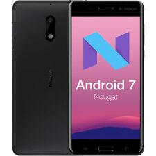 Nuevo Nokia 6 - 64GB - Dual SIM - Negro - Android 7.0 - Desbloqueado Smartphone