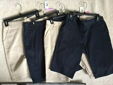Girls Nautica School Uniform Shorts Nwt Size 16 Lot 4