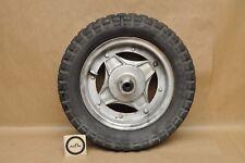 Vintage Honda CT70 K0 Trail 70 Silver Tag Front Wheel Rim Tire A77