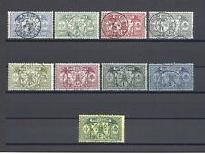 NEW HEBRIDES 1911 SG 18-28 USED Cat £100