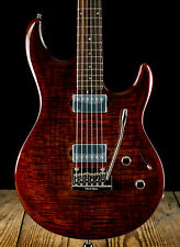 Ernie Ball Music Man Luke 3 III BFR HH Electric Guitar Hazel Burst Flame