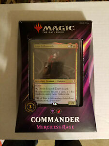 Magic: The Gathering Commander Deck Merciless Rage Factory Sealed