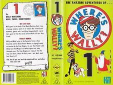 WHERE'S WALLY NUMBER 1 A  RARE FIND VHS VIDEO PAL~