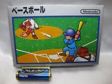 Very rare Family Computer Famicom Baseball Nintendo 1983 New