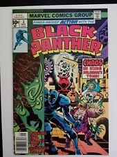 Black Panther #3 NM+ 9.6⛓️High Grade Marvel Bronze⛓️Avengers Kirby CBCS CGC PGX