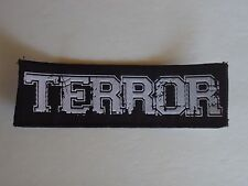 TERROR WOVEN PATCH