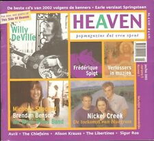 HEAVEN 2003 1 Willy MINK DeVille NO NECK BLUES BAND Julian Sas MICHELLE SHOCKED