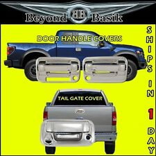 2004-2014 F150 Chrome 2 Door Handles 2KH W/KP +Tail Gate w/Camera & Keyhole