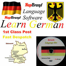 GERMAN Language Course Holiday or Business use CD mp3 audio & text
