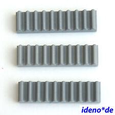 Ingeniería de LEGO TECHNIC 3 unidades Varilla dentada vías 10 Zähne 3743 42009