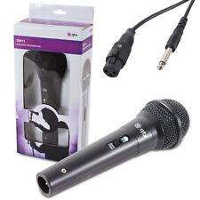 Dm11 microfono dinamico Karaoke PA Registrazione DJ Mike con Cavo da 3 METRI