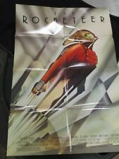 Vintage Movie Poster 1 sh The Rocketeer Billy Campbell Jennifer Connelly 1991