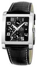 Relojes de pulsera Deportivo de acero inoxidable de cuero