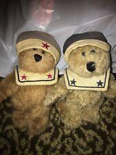 Boyds Bears Chauncey Fitzbruin Sailor Bear Lot Of 2