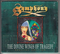 SYMPHONY X The Divine Wings of Tragedy (CD 1997) 10 Song Special Edition Digipak