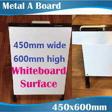 Whiteboards Double Sided A-Board/A-Frame signs/A board signs/450x600cm Portrait