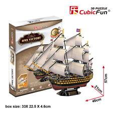 HMS Victory Ship Boat 1765 3D Puzzle 189 pcs 46x21x57cm T4019 Paper Model