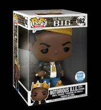 "Funko Pop! Rocks: Notorious B.I.G with crown 10"" inch Biggie Smalls New 162"