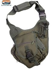 Kombat Green Tactical Shoulder Bag 7 Litre Airsoft Military Army Paintball