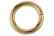 100 Pieces Open Jump Rings 14Kt Gold Filled 3mm 20 Gauge Wholesale DIY Crafting