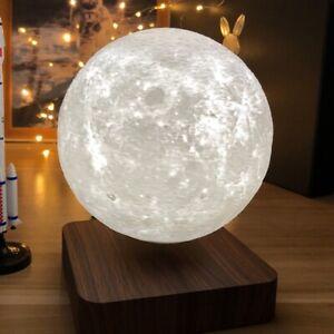 Creative Gravity Floating 3D Moon Lamp Magnetic Levitation Anti Decoration