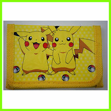 NEW Pokemon Pikachu Children's Kids Boys Girls Purse Wallet For Christmas Gift