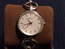 DKNY Donna Karan NY8025 Silver Bracelet watch NWOT