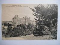 """CPA """"Solesmes - Abbaye des bénédictins - Vue du château de la grange"""""""