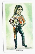 BARRY SHEENE 1979 VENORLANDUS WORLD OF SPORT OUR HEROES RACING  CARD #7 of 48!
