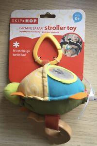 NEW Skip Hop Safari Stroller Toy Rattle - Ages 0+ Tortoise