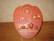 LAFOND CREATIONS *NEW* Horloge en grès décoré La Pause Café