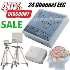 CE Brain Electric Activity EEG Machine And Mapping System 24 channel + Software