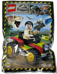 LEGO Jurassic World Vic Hoskins with Buggy  122009 Polybag