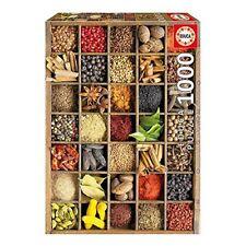 Puzzle 1000 especias educa Borras