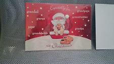 Wholesale Joblot 5 Marks And Spencer Grandfather 3D Christmas Card RRP £13.75