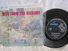 """HITS FROM THE SEEKERS VINYL RECORD E.P. 7"""""""